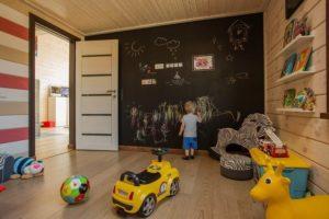 Грифельная краска в интерьере детской
