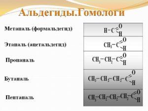 Альдегиды