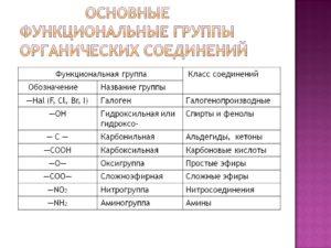 ФУНКЦИОНАЛЬНАЯ ГРУППА