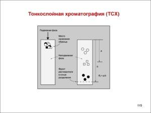 Тонкослойная хроматография