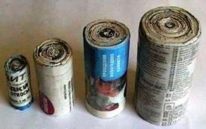 Селитрованная бумага