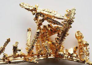 Золото Au
