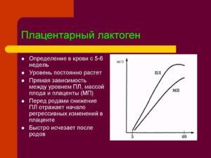Плацентарный лактоген
