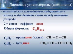 Диеновые углеводороды