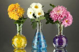 Химические цветы