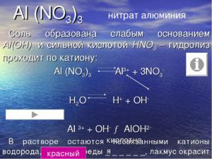 Алюминия нитрат