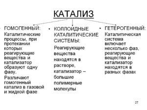 Катализ