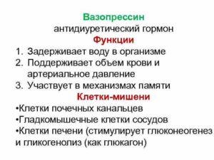 ВАЗОПРЕССИН