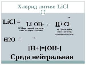 ЛИТИЯ ХЛОРИД