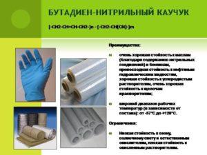 Бутадиен-нитрильные каучуки