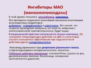 МОНОАМИНОКСИДАЗЫ