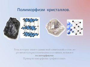 Полиморфизм в химии