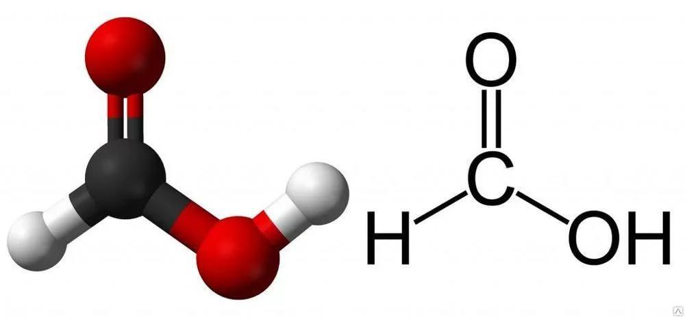 Где используется муравьиная кислота